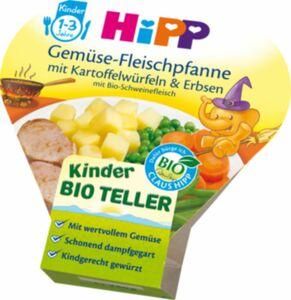 HiPP Bio Schale Gemüse Fleischpfanne mit Kartoffelwürfeln 1-3 Jahre, 2 ...