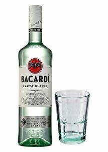 Bacardi Oakheart 35 % Vol.  0,7 Liter + Glas