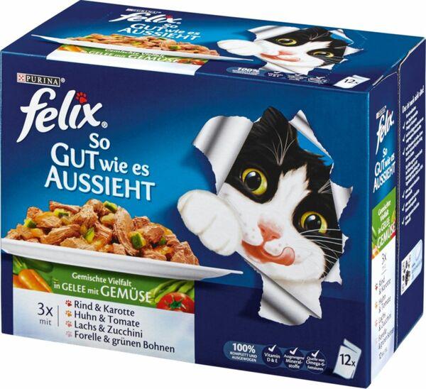 Felix so gut wie es aussieht Gemüse 24x100g