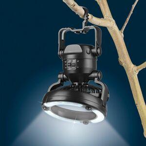 EASYmaxx LED-Leuchte 2in1 mit Ventilator