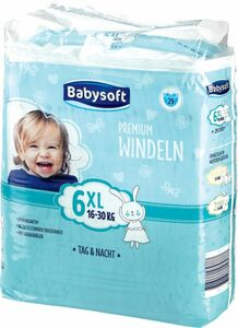 Babysoft Windeln Gr. 6 XL 29 ST