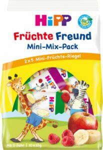 HiPP Bio Riegel Früchte Freund Mini Mix, 10 x 10 g