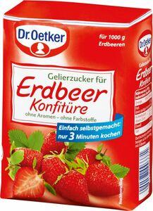 Dr. Oetker Gelierzucker für Erdbeeren 500g