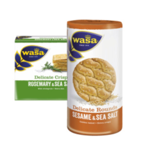 Wasa Sandwich, Delicate Thin Crisp oder Rounds