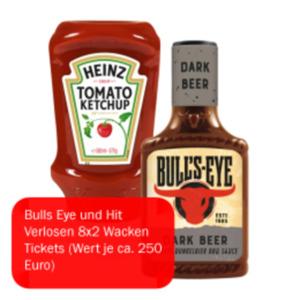 Bull's Eye Sauce oder Heinz Ketchup