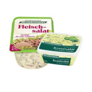 Bruckmann Krautsalat, Weißkrautsalat oder Fleischsalat