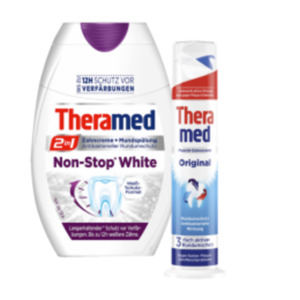 Theramed oder Theramed 2in1 Zahncreme
