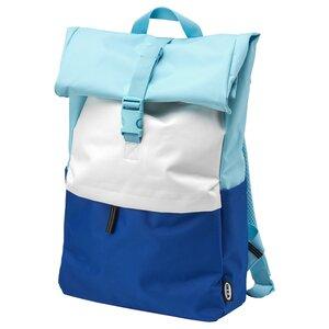 STARTTID                                Rucksack, blau/weiß, 18 l