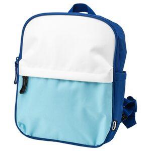 STARTTID                                Rucksack, blau/weiß, 7 l