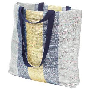 ÖVERALLT                                Tasche, bunt, 45x45 cm