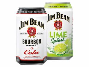 Jim Beam & Cola/ Jim Beam Lime Splash/ Jim Beam & Cola Zero