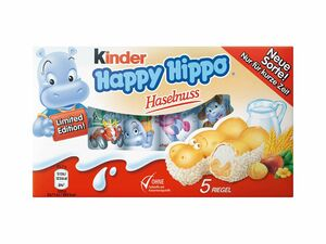 Kinder Happy Hippo Haselnuss