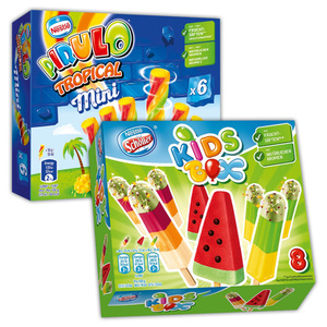 Nestlé/Schöller Pirulo Tropical Mini / Kids Box