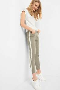 Jeans mit Galonstreifen