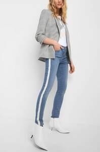 Skinny Jeans mit Galonstreifen