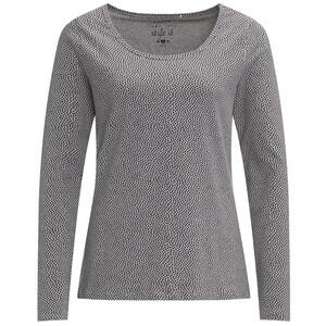 Damen Langarmshirt mit Allover-Print