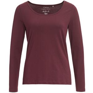 Damen Langarmshirt im Basic-Look