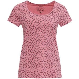 Damen T-Shirt mit Allover-Muster