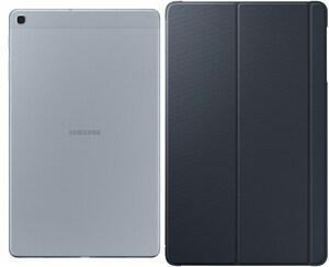 Samsung Galaxy Tab A 10.1 WiFi (2019) Tablet silber inkl. Book Cover