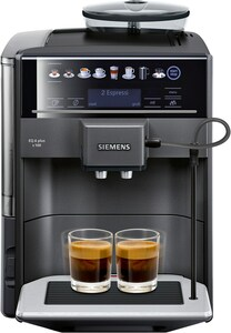 Siemens TE651508DE Kaffee-Vollautomat saphirschwarz metallic