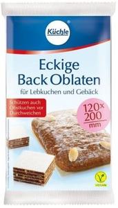 Küchle Eckige Back Oblaten 53 g