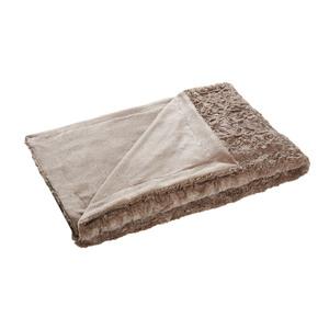 Schlafdecke Fluffy (140x200, stone)