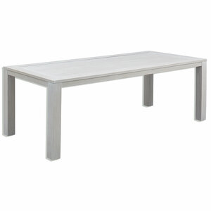 Gardiola Gartentisch BALSEIN - weiß - Aluminium