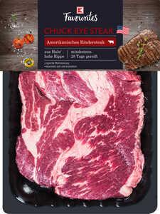 K-FAVOURITES  Amerikanisches Chuck Eye Steak