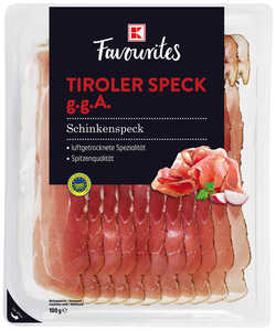 K-FAVOURITES  Tiroler Speck g.g.A.
