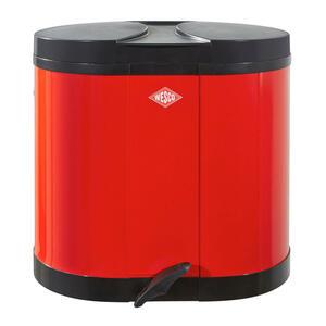Wesco ABFALLSAMMLER 2X15 L, Rot