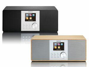 Lenco DIR-200 WiFi-Internet-Radio mit DAB+ und PLL FM-Radio (mit RDS-Funktion)