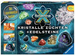 Ravensburger Experimentierkasten Kristalle züchten+Edelsteine