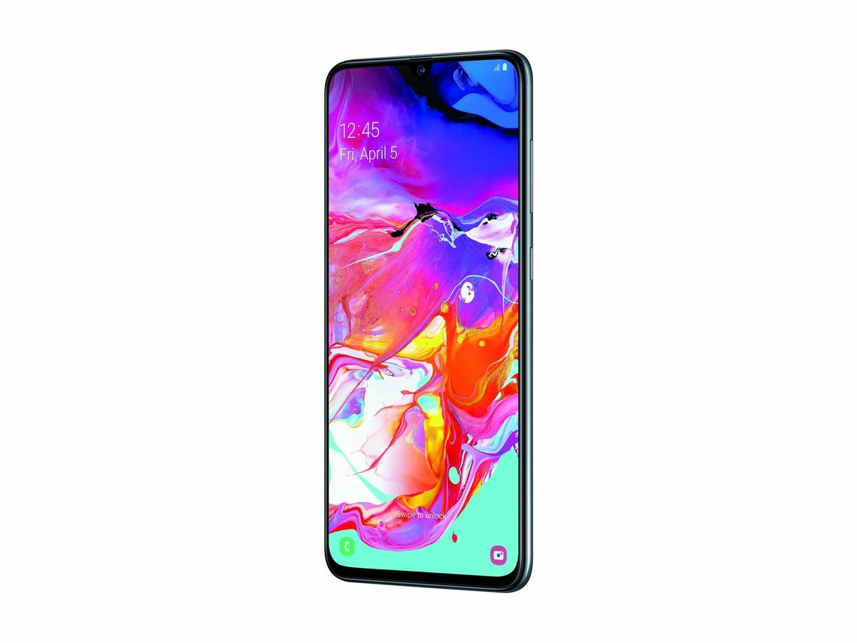 Bild 2 von SAMSUNG Smartphone Galaxy A70 SM-A705F black