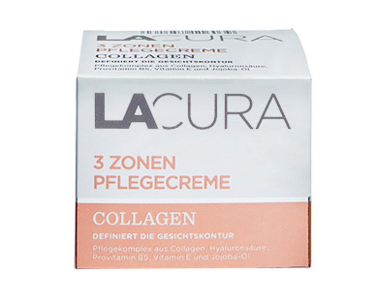 Bild 1 von LACURA 3 Zonen Pflegecreme Collagen