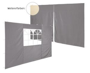 GARDENLINE®  Seitenteile für Aluminium-Faltpavillon
