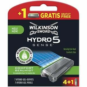 Wilkinson Sword Hydro 5 Sense Comfort Rasierklingen