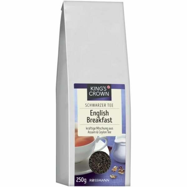 King´s Crown Schwarzer Tee English Breakfast 1.00 EUR/100 g