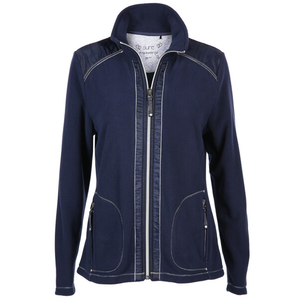 Damen Fleece Cardigan