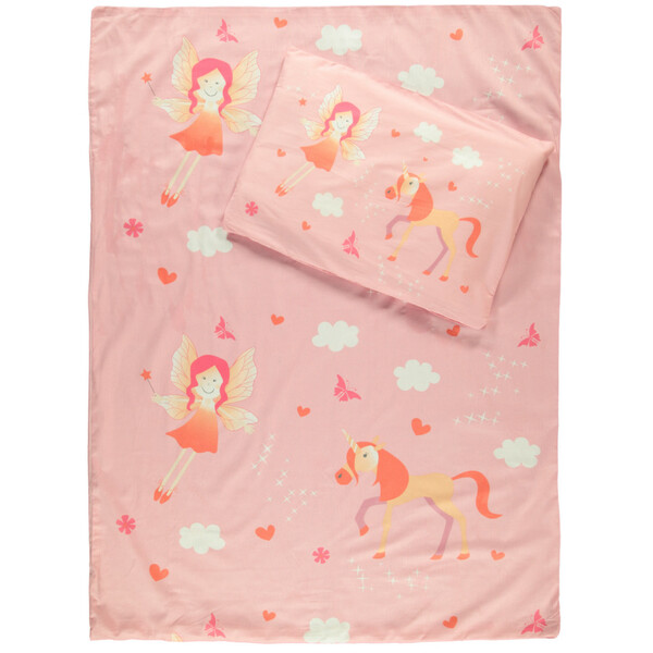 Kinder Bettwäsche mit Einhorn Motiv