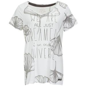 Damen T-Shirt mit Message-Print
