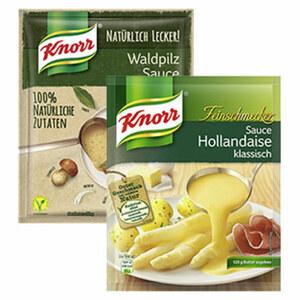 Knorr Feinschmecker Sauce oder Natürlich Lecker! Sauce versch. Sorten jeder Beutel