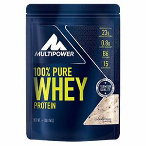 Multipower Whey Protein versch. Sorten, jede 450-g-Packung