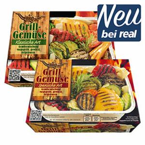 Grillgemüse Klassisch oder Spanische Art gefroren, jede 350-g-Packung