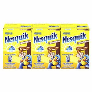 Nestlé Nesquik Trinkfertig jede 3 x 200 = 600-ml-Packung