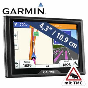 Navi Drive™ 40 · Fahrspurassistent · 3D-Kreuzungsansicht · Garmin Sicherheitspaket, warnt z. B. vor Geschwindigkeitsänderungen, Wildwechsel etc.