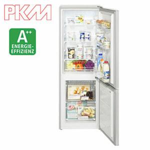 Kühl-/Gefrierkombi KGK 235 SI • 51 Liter Gefrierteil • 116 Liter Kühlteil • Maße: H 141,8 x B 50,0 x T 54,0 cm • Energie-Effizienz: A++ (Spektrum: A+++ bis D)