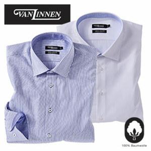 Herren-Cityhemd • langarm, Premium- Ausrüstung • sorgt für ideale Pflege und Trageeigenschaften • easy care, versch. Farben • Größe: 39 - 46, je