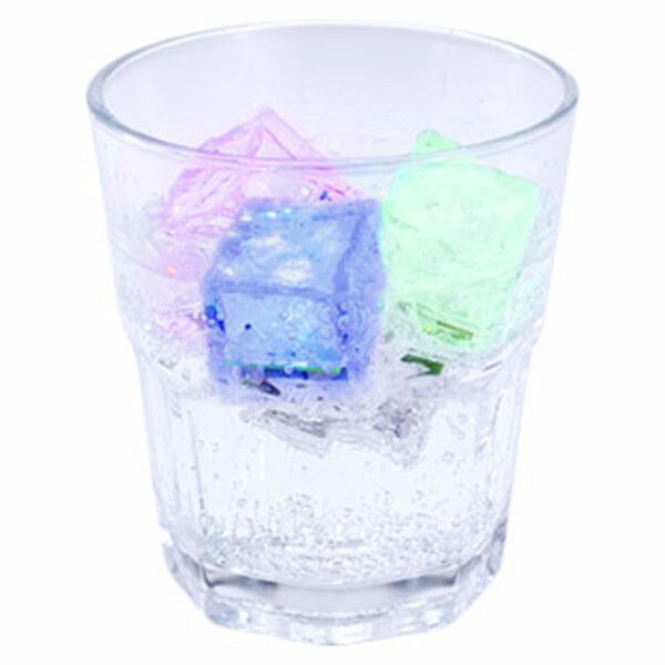 LED-Eiswürfel - mit Farbwechsel - 4er-Set