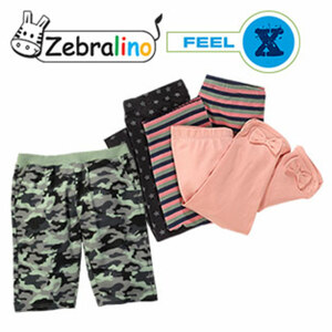 Baby- oder Kinder-Sweat-Bermuda oder Kinder- Capri-Hose versch. Dessins und Größen, ab
