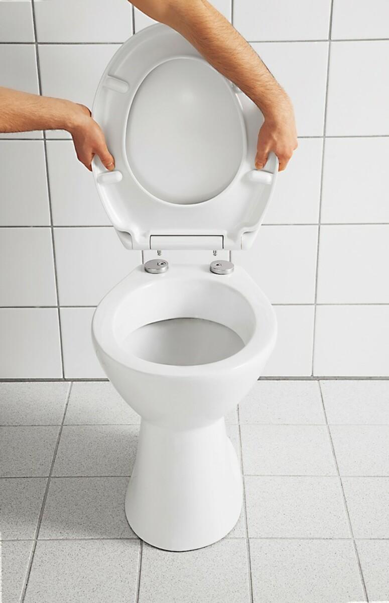Bild 2 von badkomfort Hochglanz-WC-Sitz mit Acryl-Beschichtung, Strand Steg